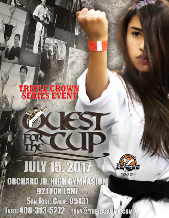 QUEST FOR THE CUP FRONT PAGE